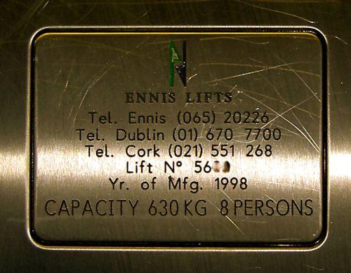 Ennis Lift